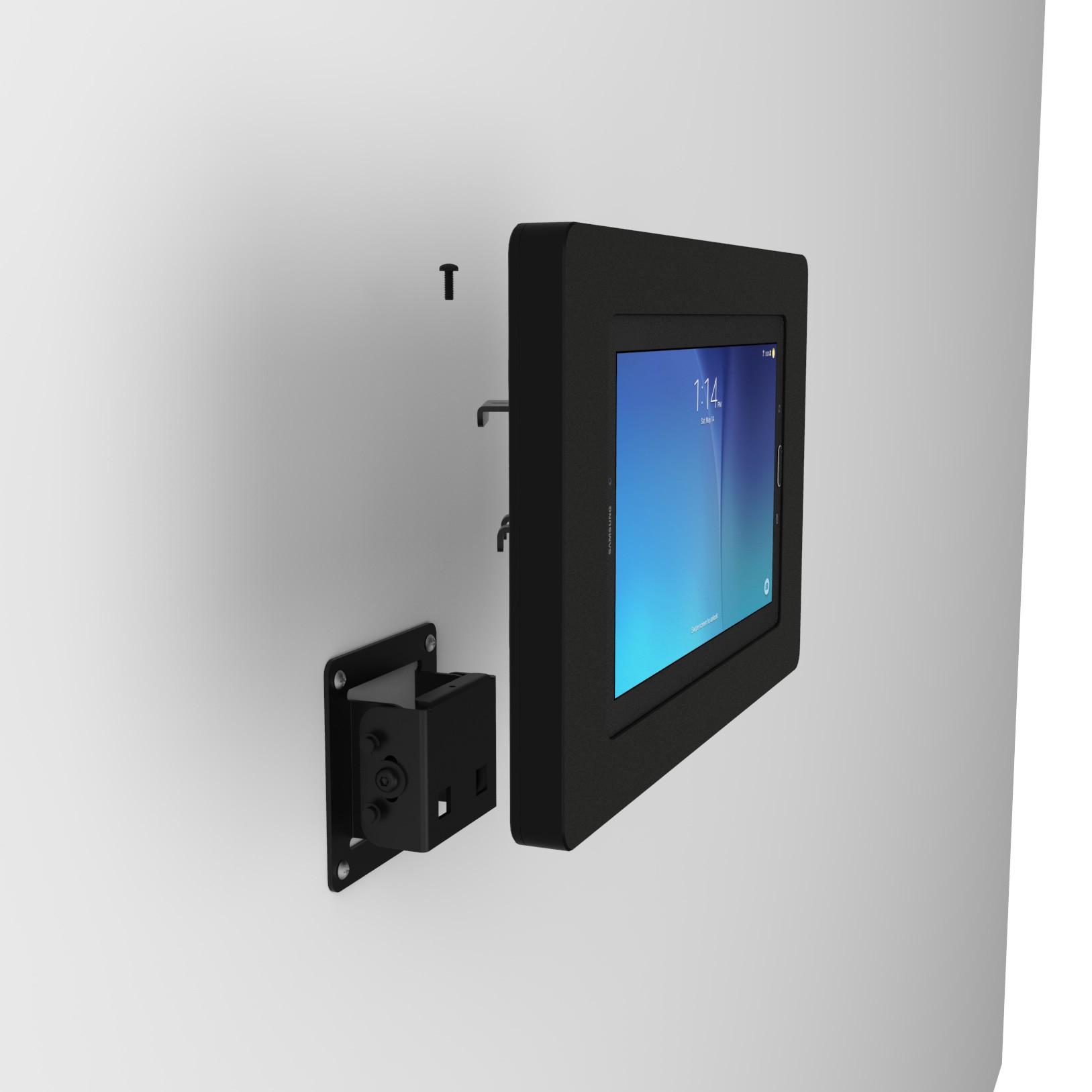 Tilting Wall Samsung Galaxy Tab E 96 Tablet Mount Black