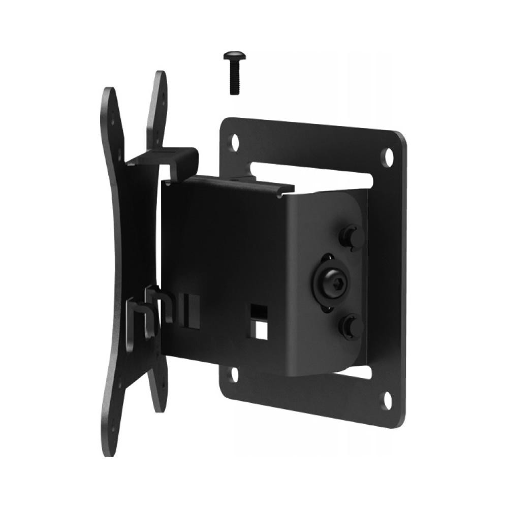 tilting vesa slim wall mount assembly view