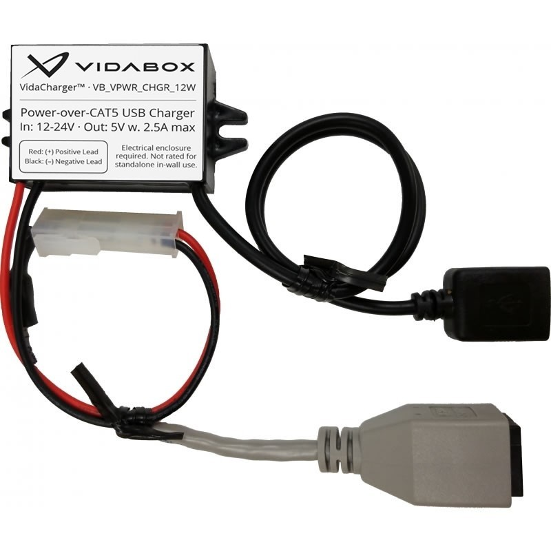 24v vidacharger cat5 poe to usb power adapterBlack No Usb Cable Wiring #21