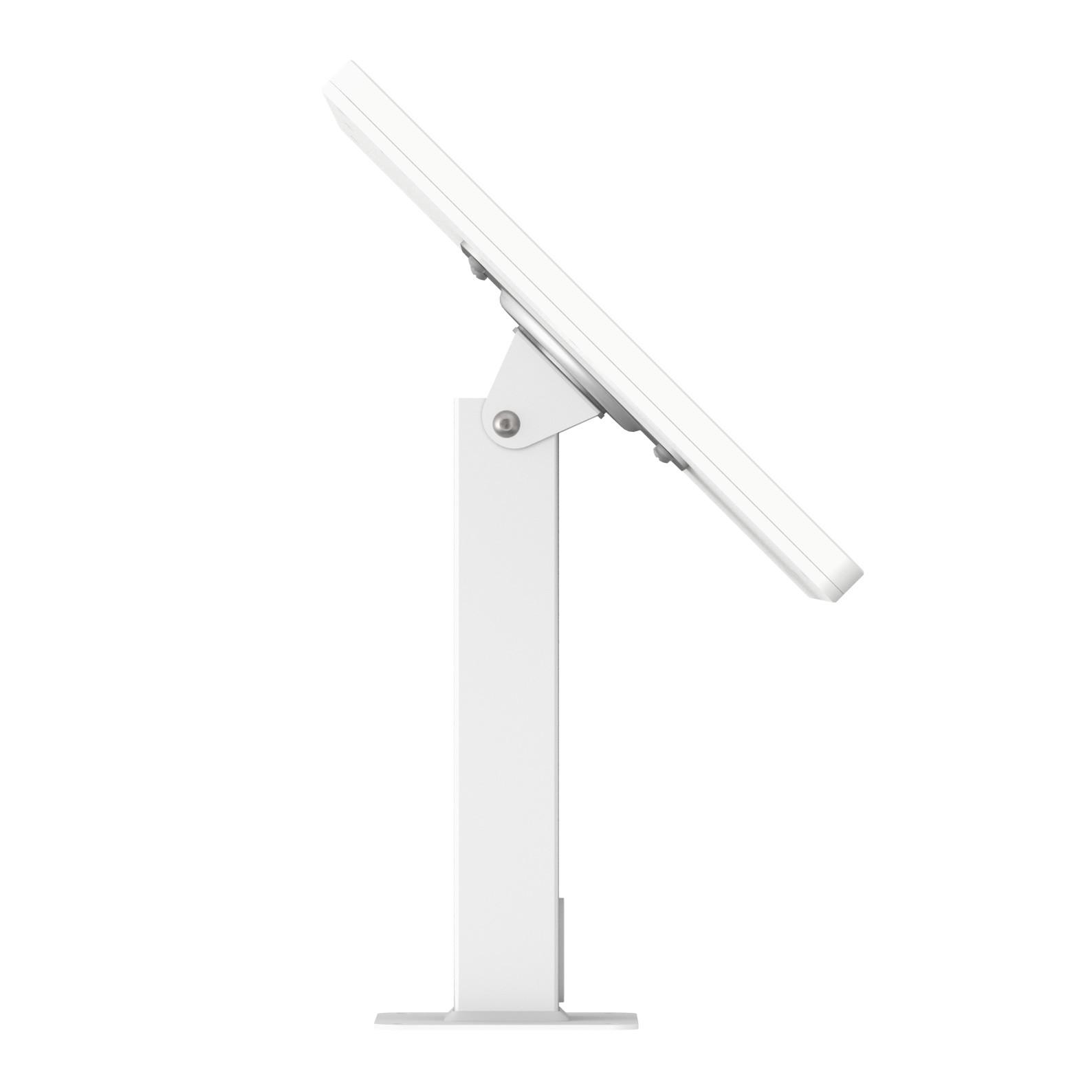 12 9-inch iPad Pro 3rd Gen White Enclosure w  360 Rotate & Tilt Surface  Mount