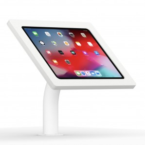 12 9 Inch Ipad Pro 3rd Gen White Enclosure W Fixed Desk
