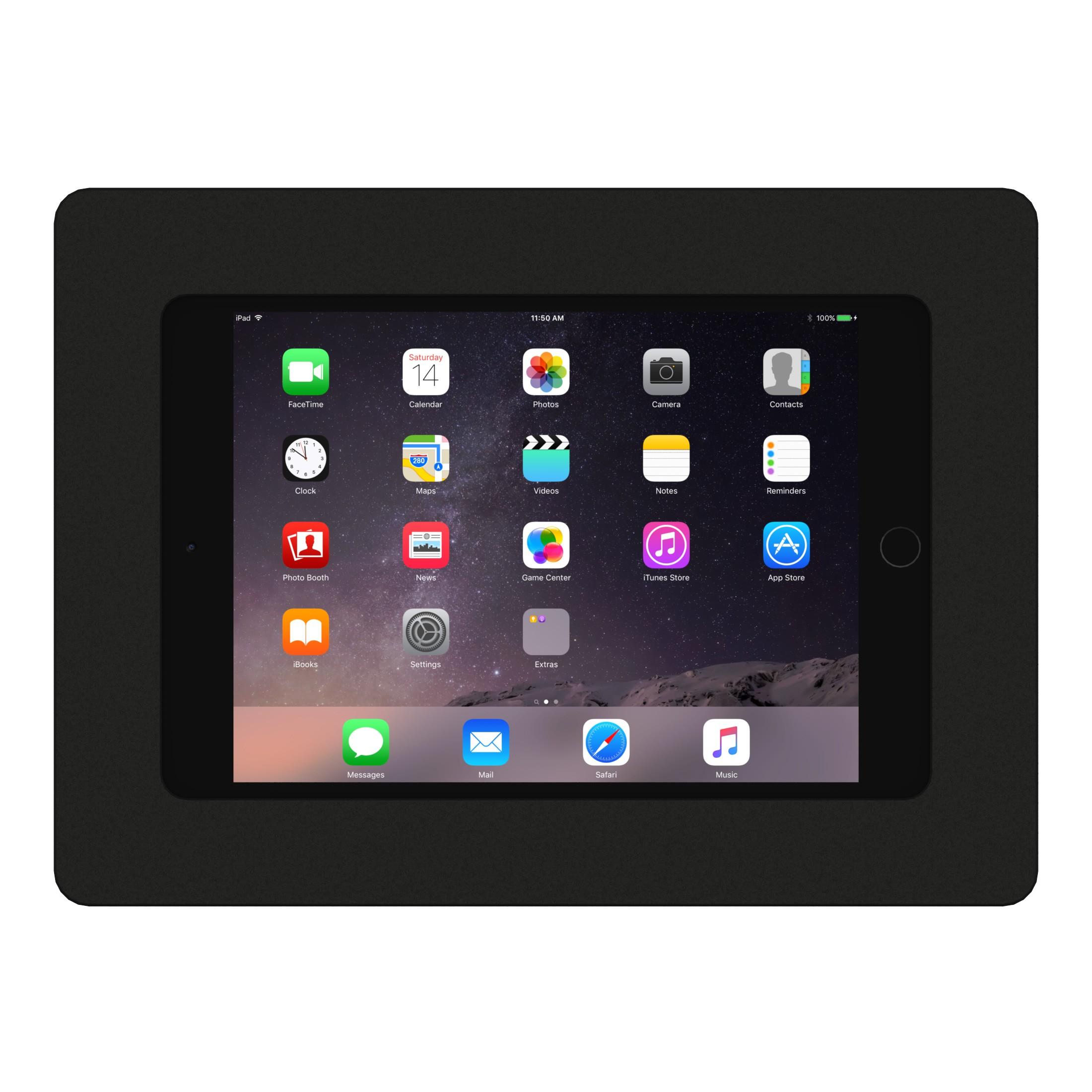 Vidamount Vesa Tablet Enclosure Ipad Mini 4 Black