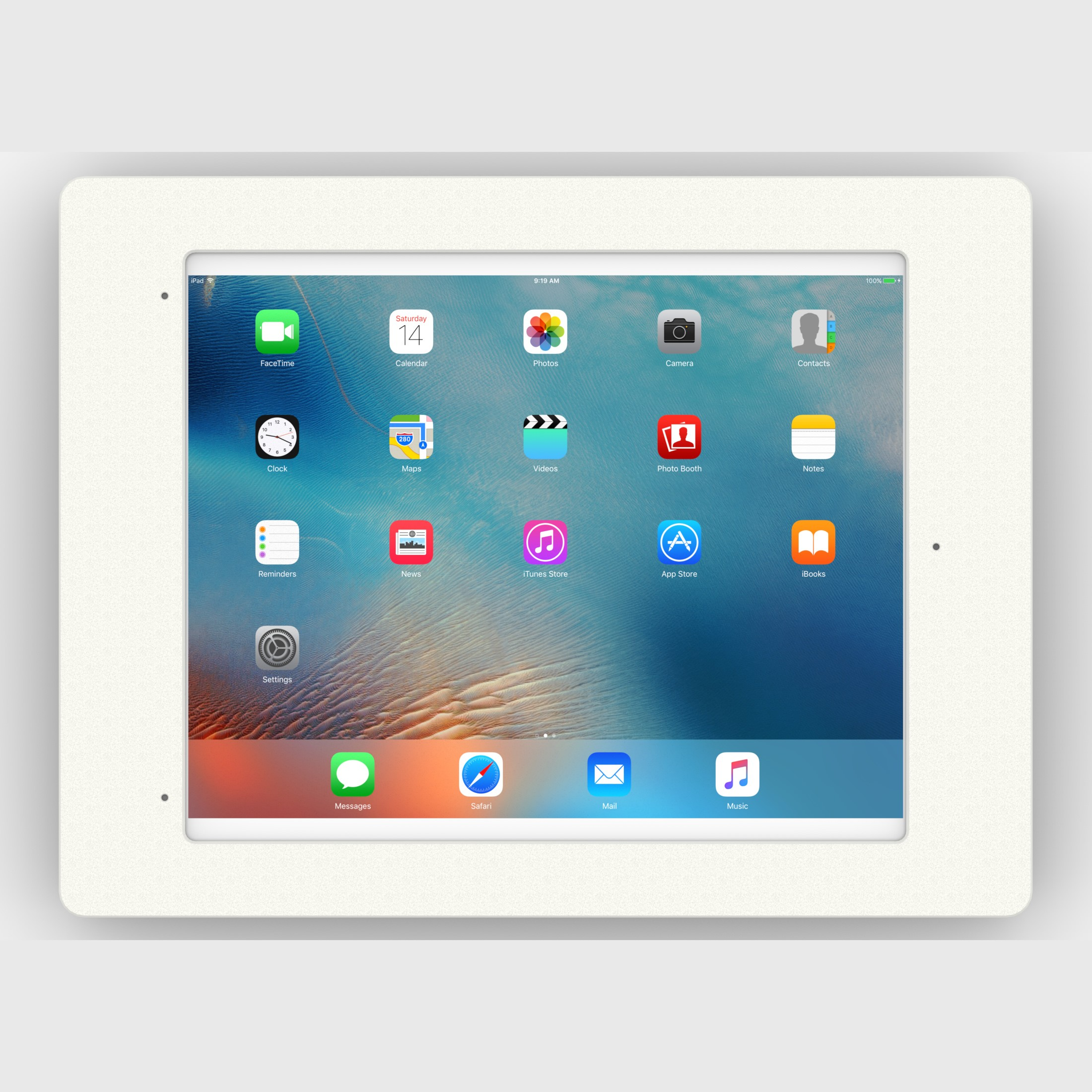 Fixed Slim Wall 12 9 Inch Ipad Pro Home Button Covered