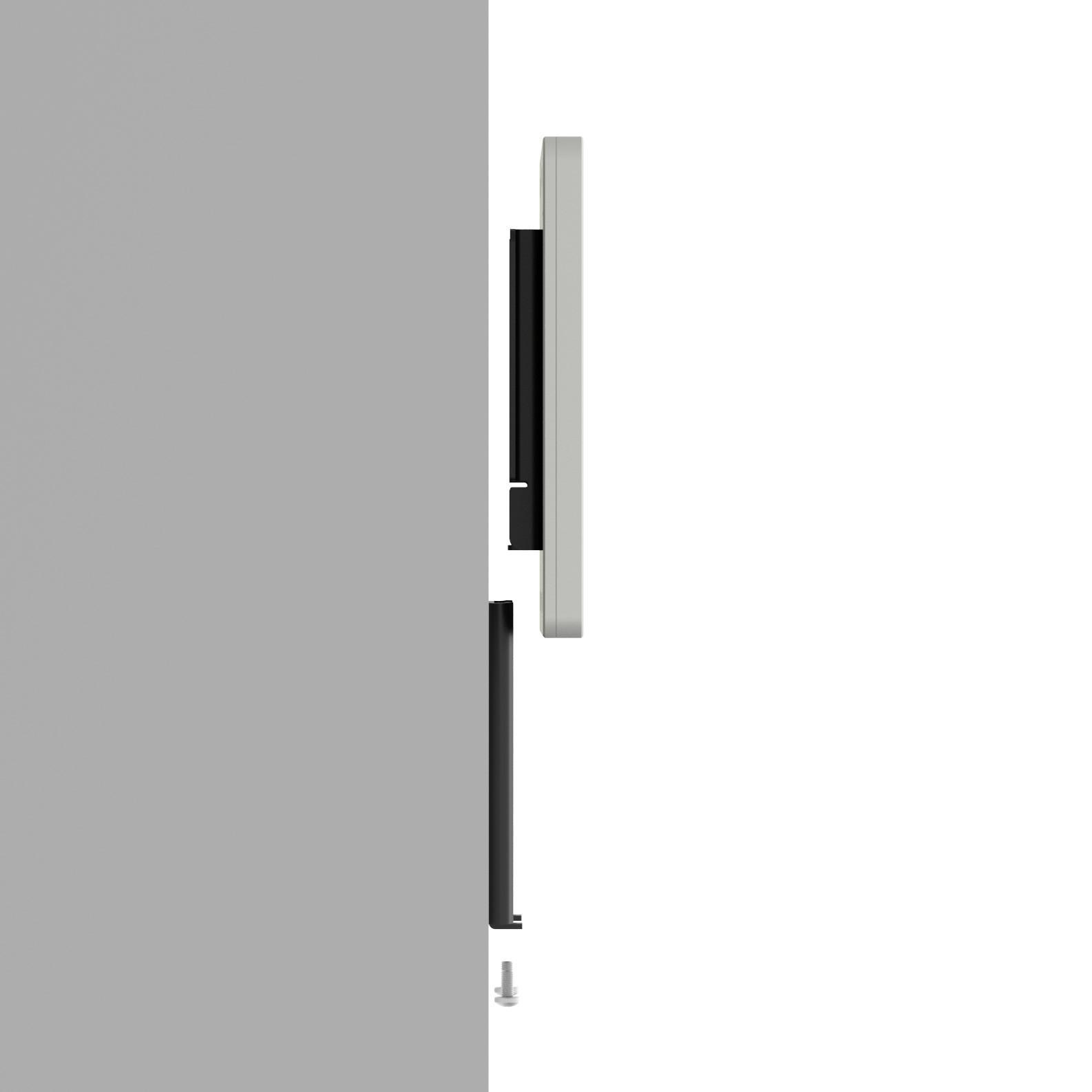 Fixed Slim Wall iPad Mini 4 Tablet Mount Light Grey