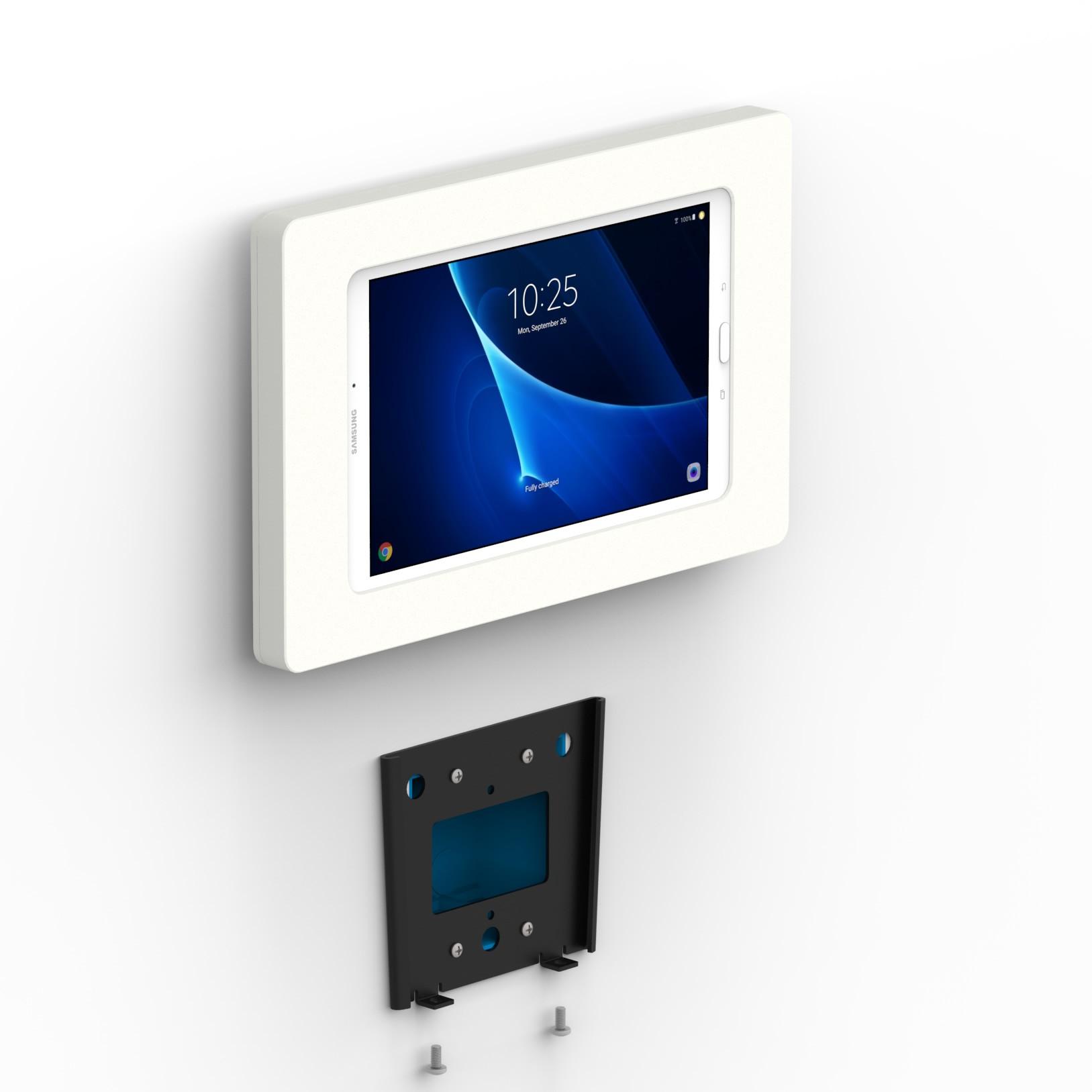 Fixed Slim Wall Samsung Galaxy Tab A 10 1 Tablet Mount White