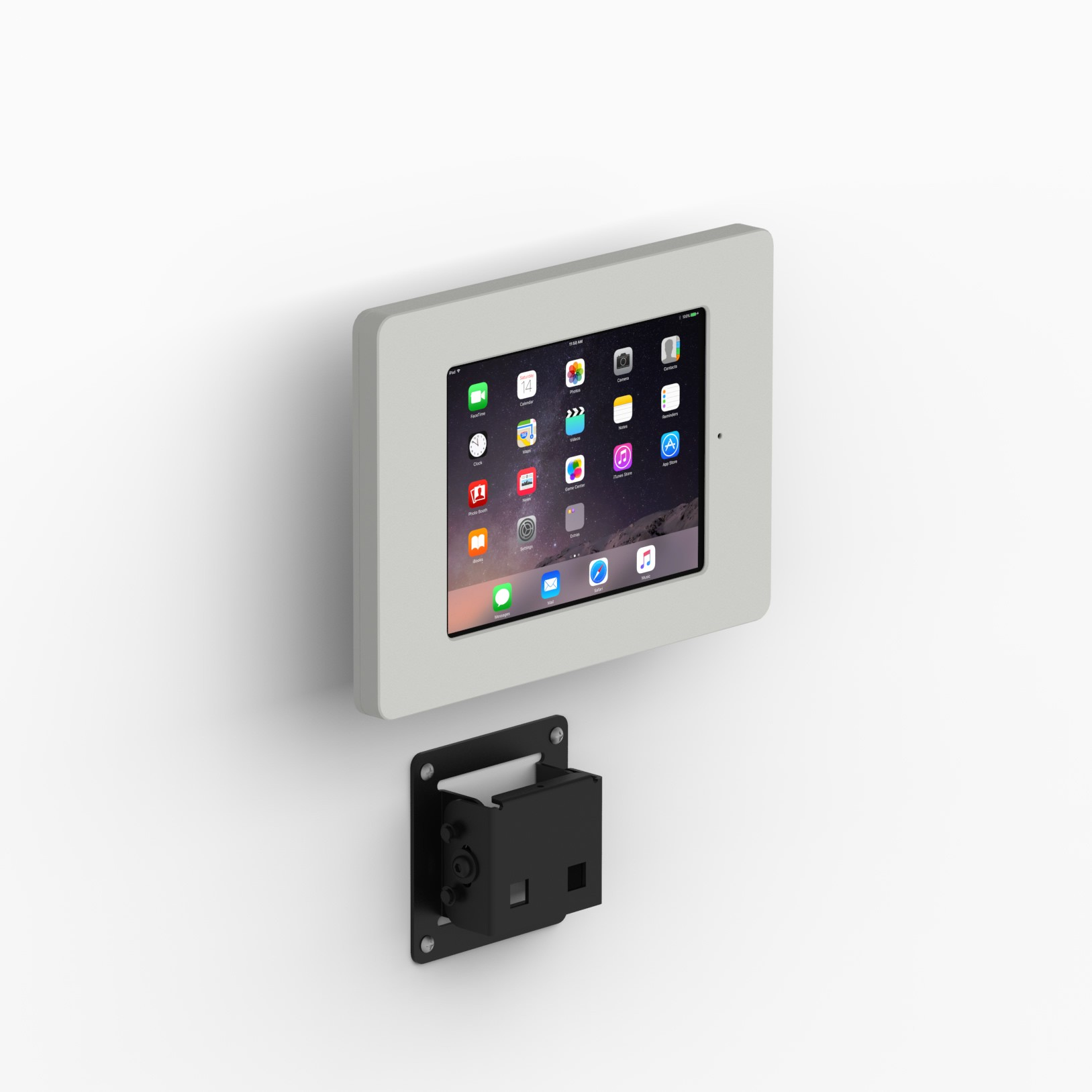 Tilting Wall Ipad Mini 4 Amp 5 Home Button Covered Tablet