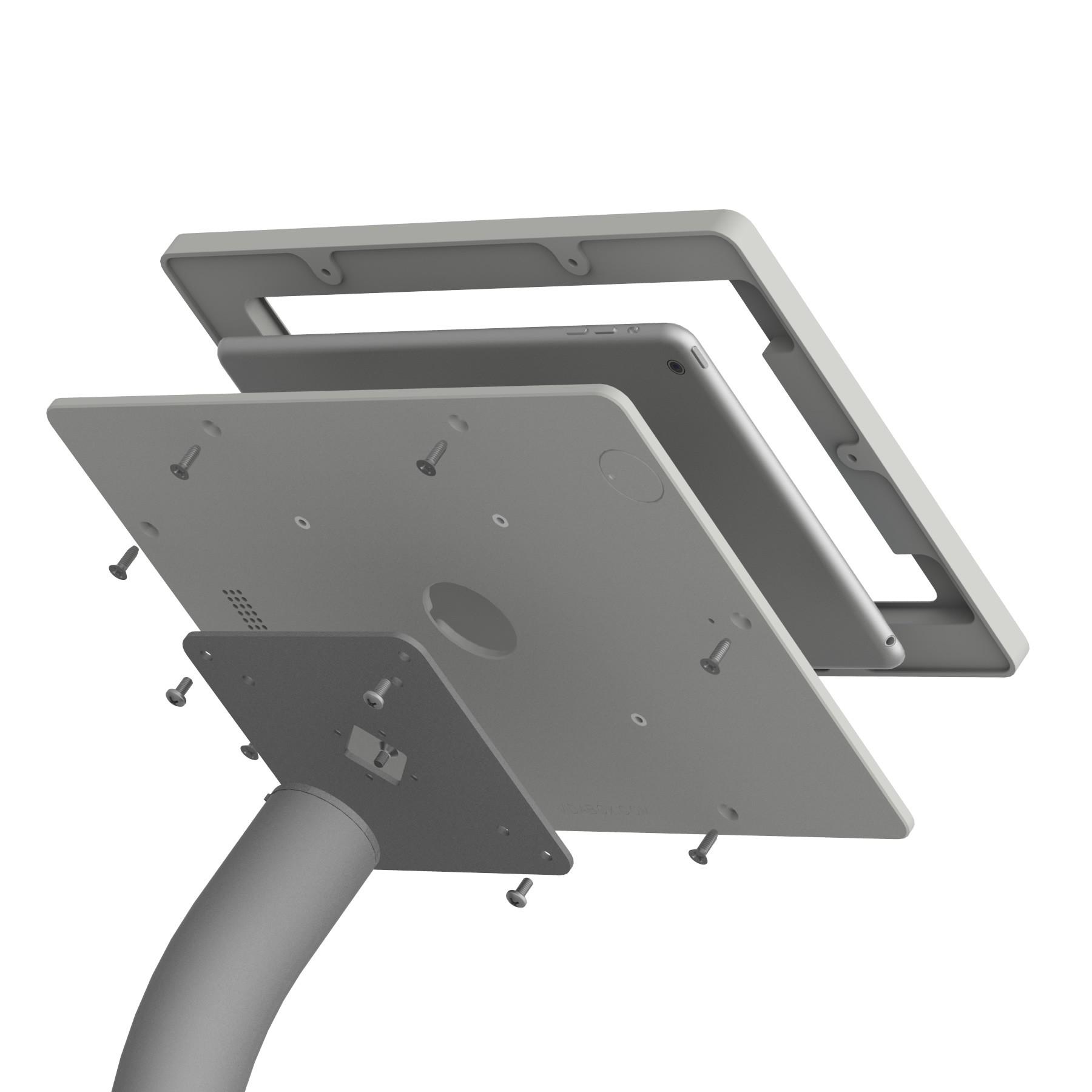 fixed vesa floor stand ipad air 1 u0026 2 97inch ipad pro - Ipad Floor Stand