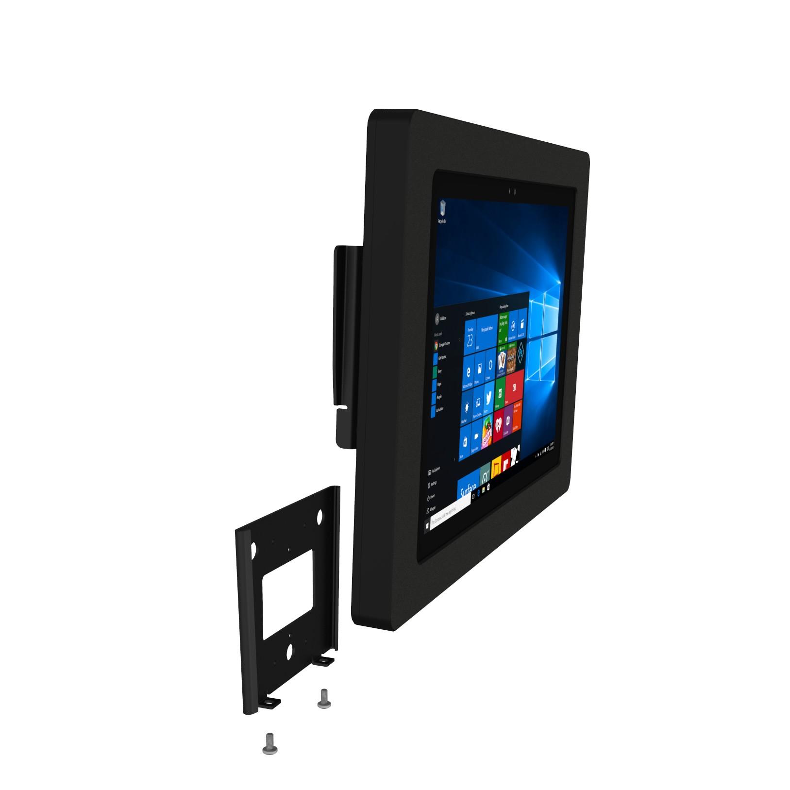 Permanent Glass Ipad Tablet Mount Vidabox Kiosks