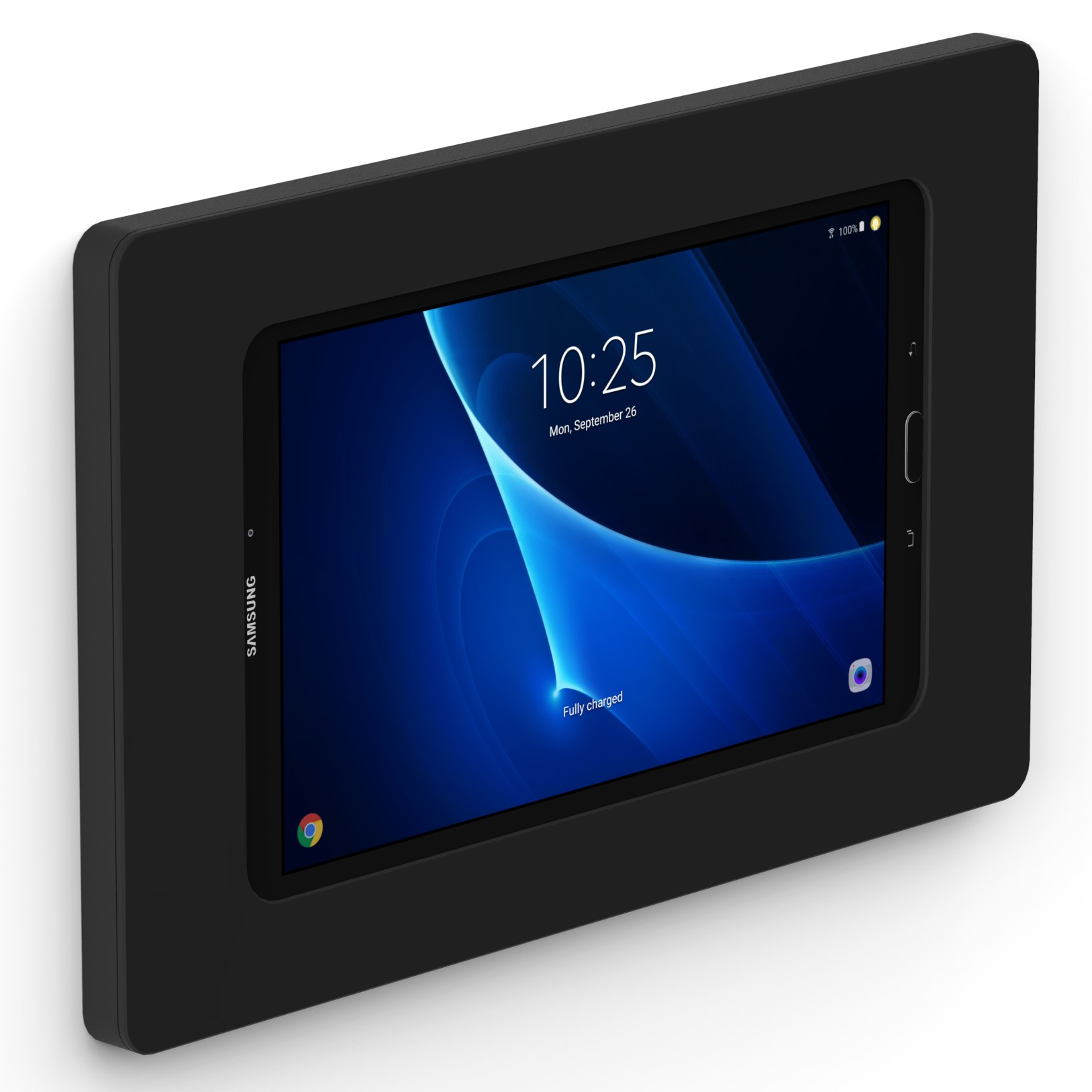 Black Samsung Galaxy Tab A 10 1 Vidamount On Wall