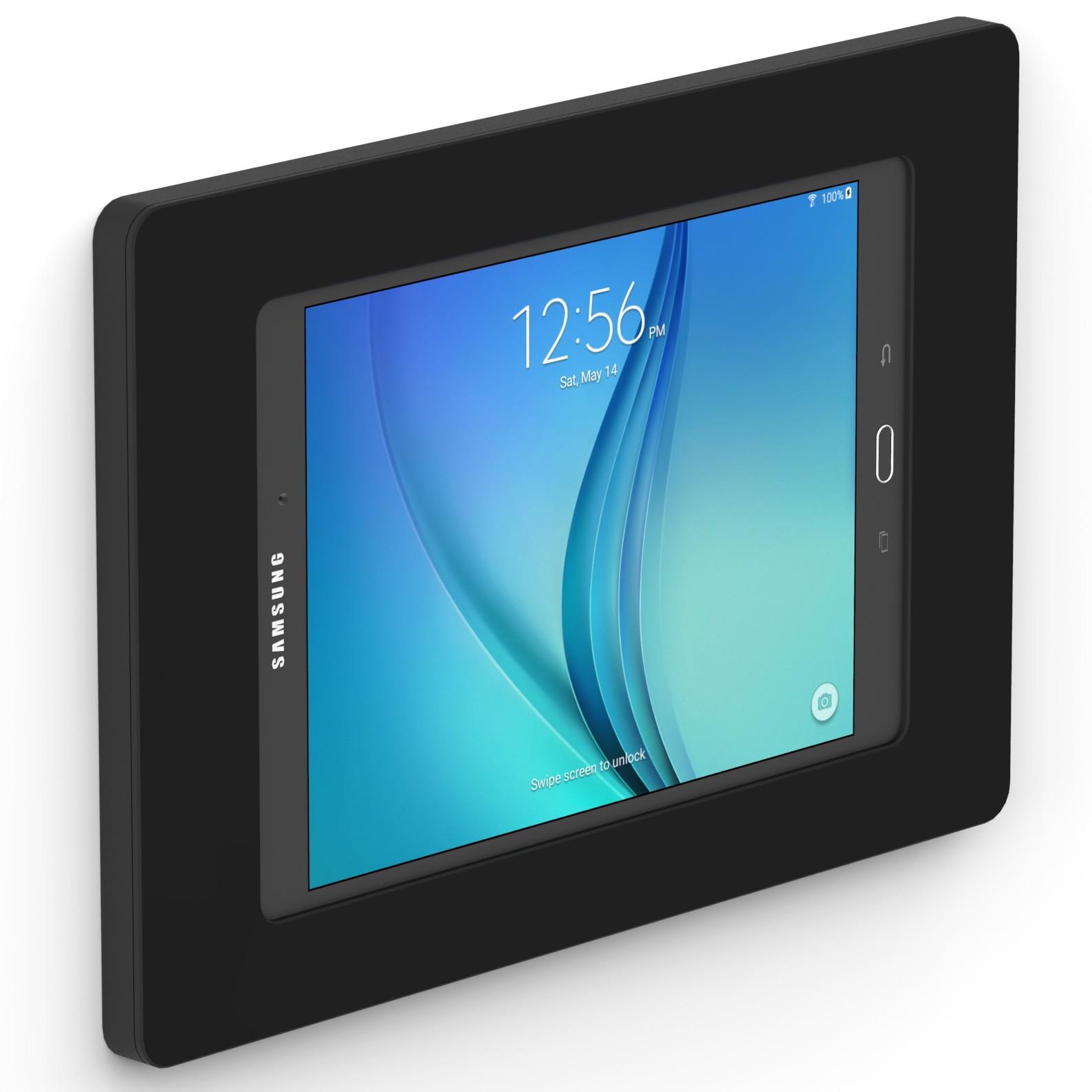 Black Samsung Galaxy Tab A 9 7 Vidamount On Wall