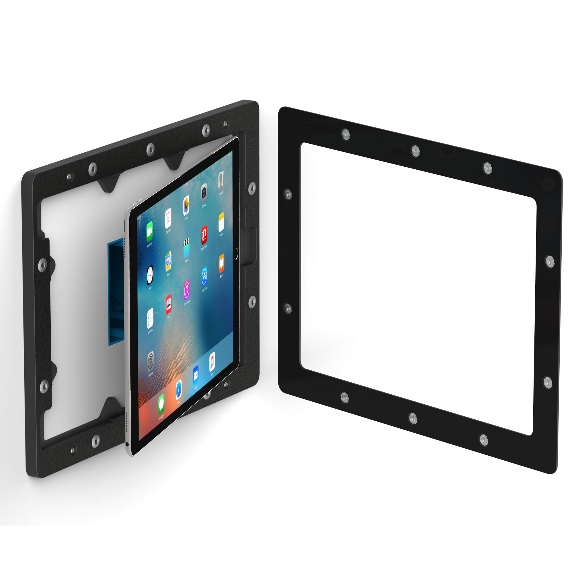 Black 12 9 Inch Ipad Pro Vidamount On Wall Tablet Mount