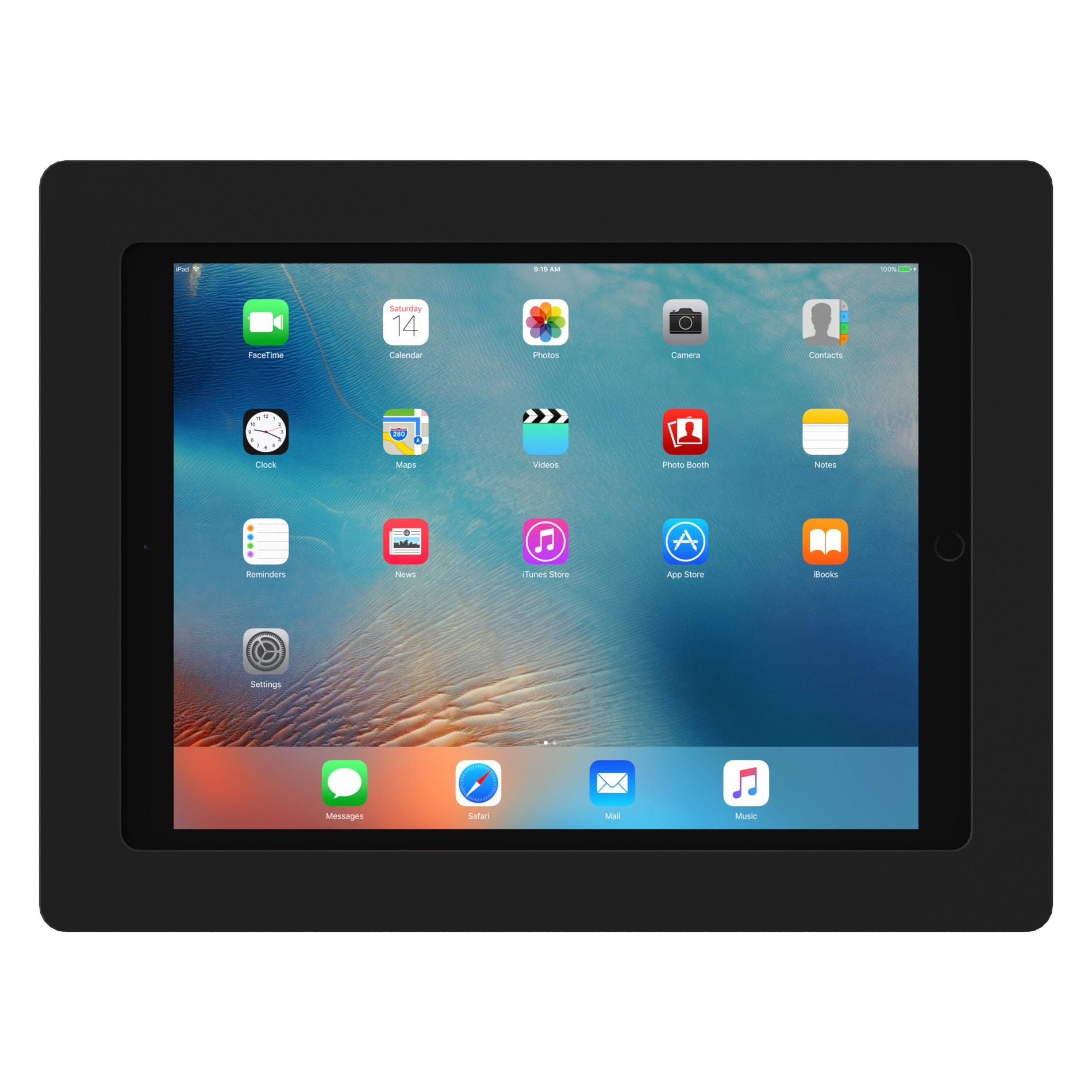 Black 12 9 Inch Ipad Pro Vidamount On Wall Tablet Mount