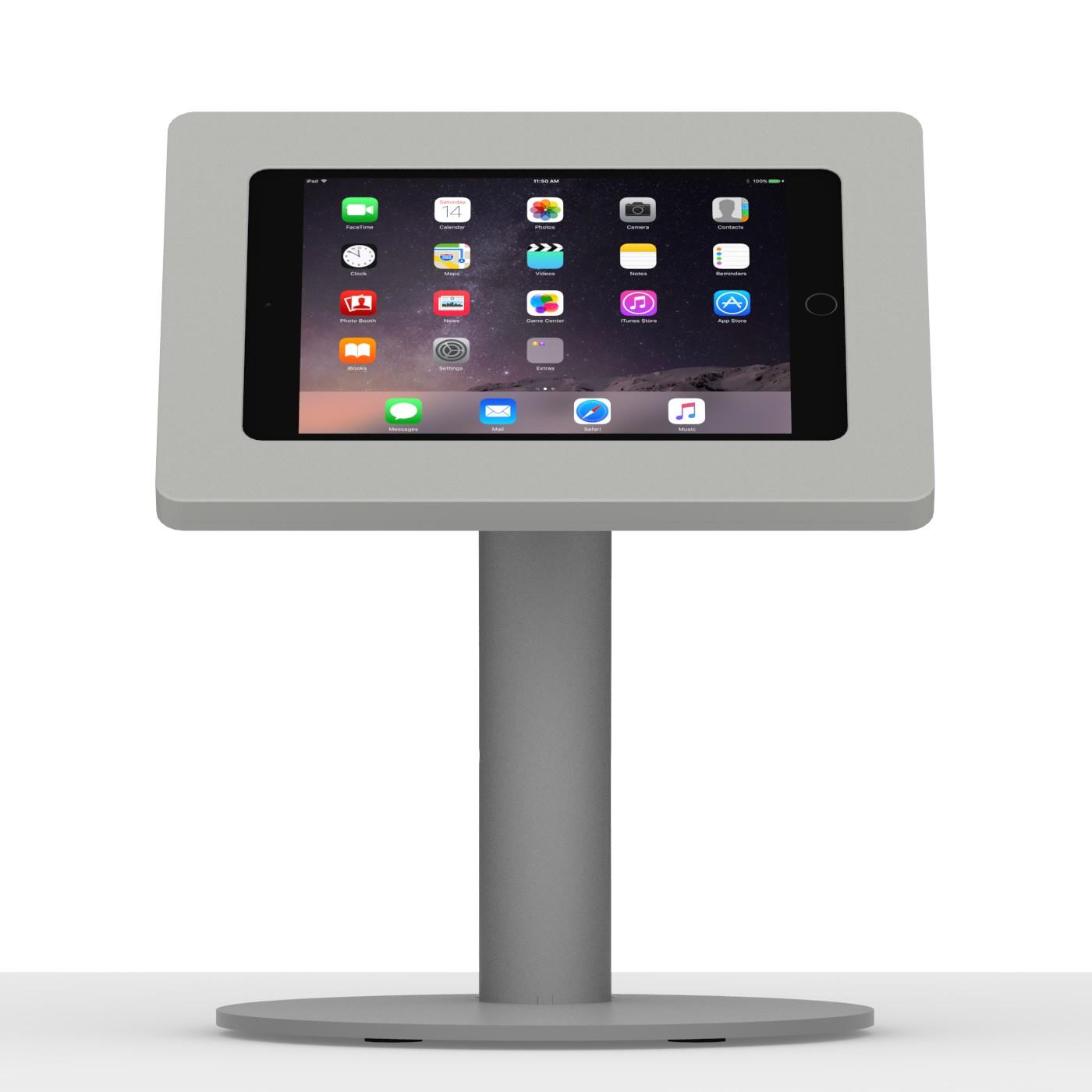 Ipad Mini 4 Light Grey Enclosure W Portable Fixed Vesa Stand