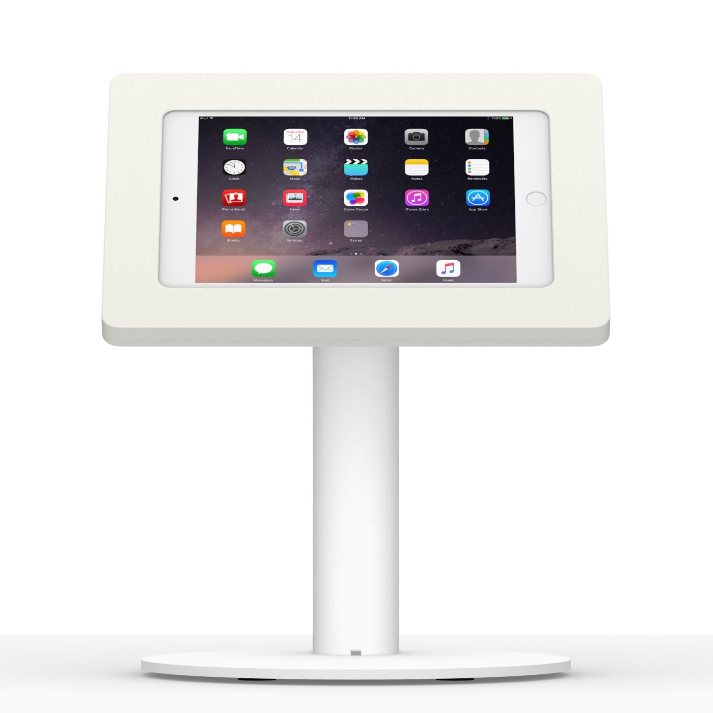 Ipad Mini 1 2 3 White Enclosure W Portable Fixed Vesa Stand