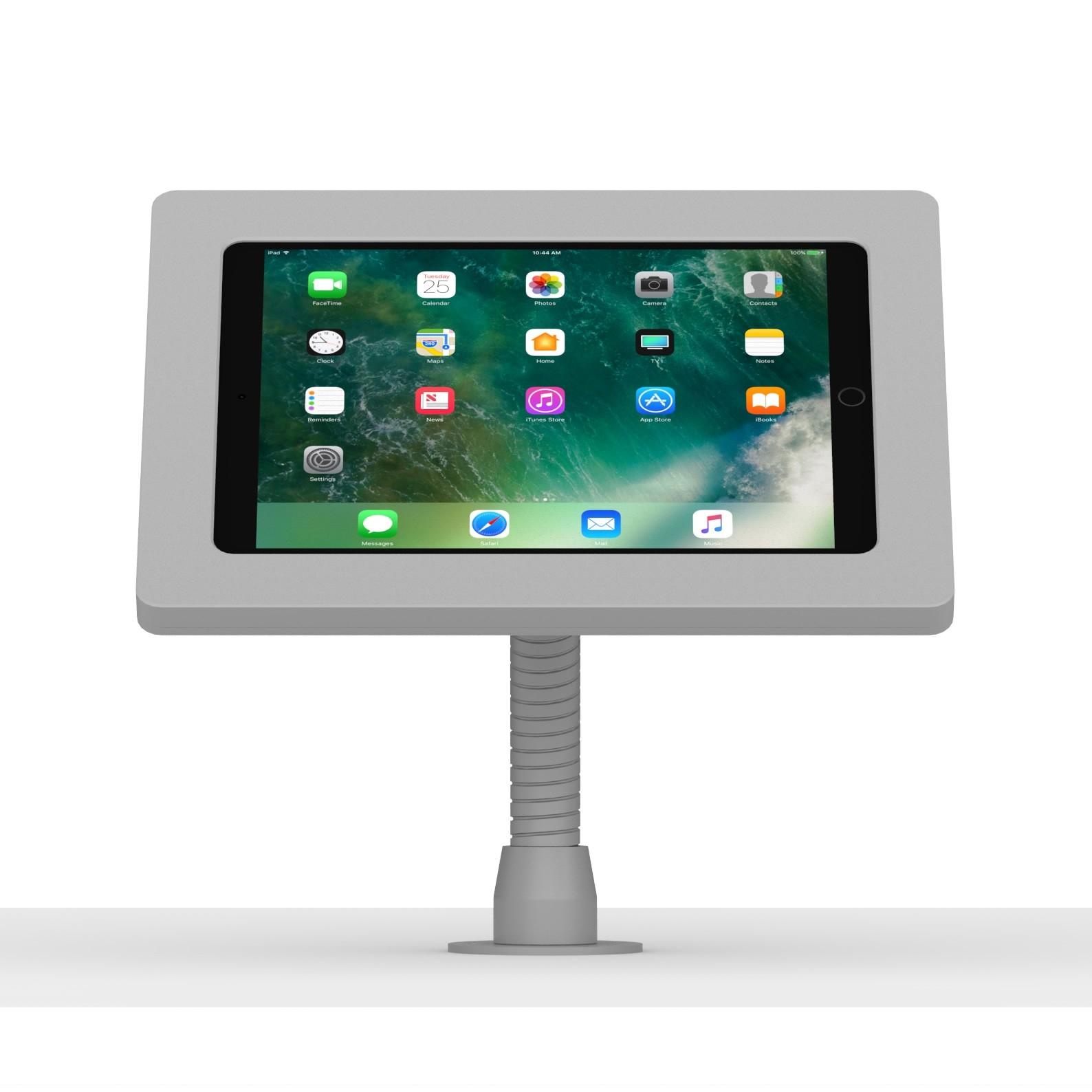 10 5 Inch Ipad Pro Light Grey Enclosure W Flexible Desk