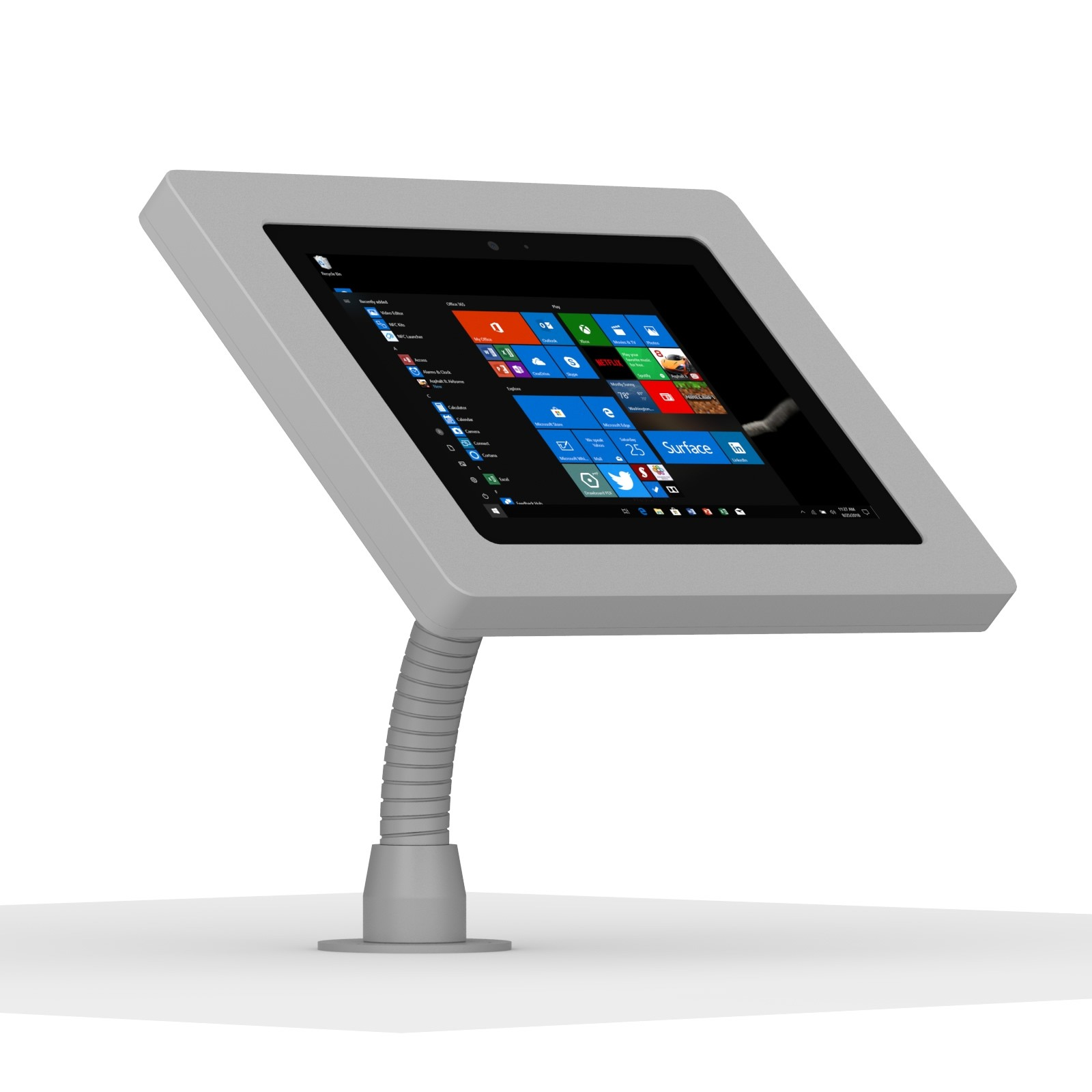 Microsoft Surface Go Light Grey Enclosure W Flexible Desk