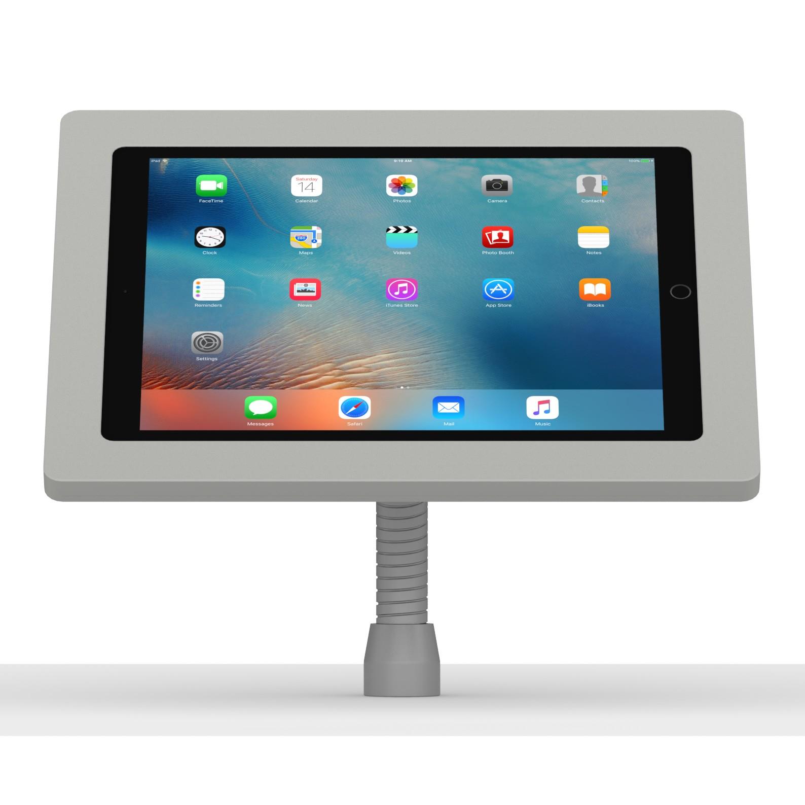 12 9 Inch Ipad Pro Light Grey Enclosure W Flexible Desk