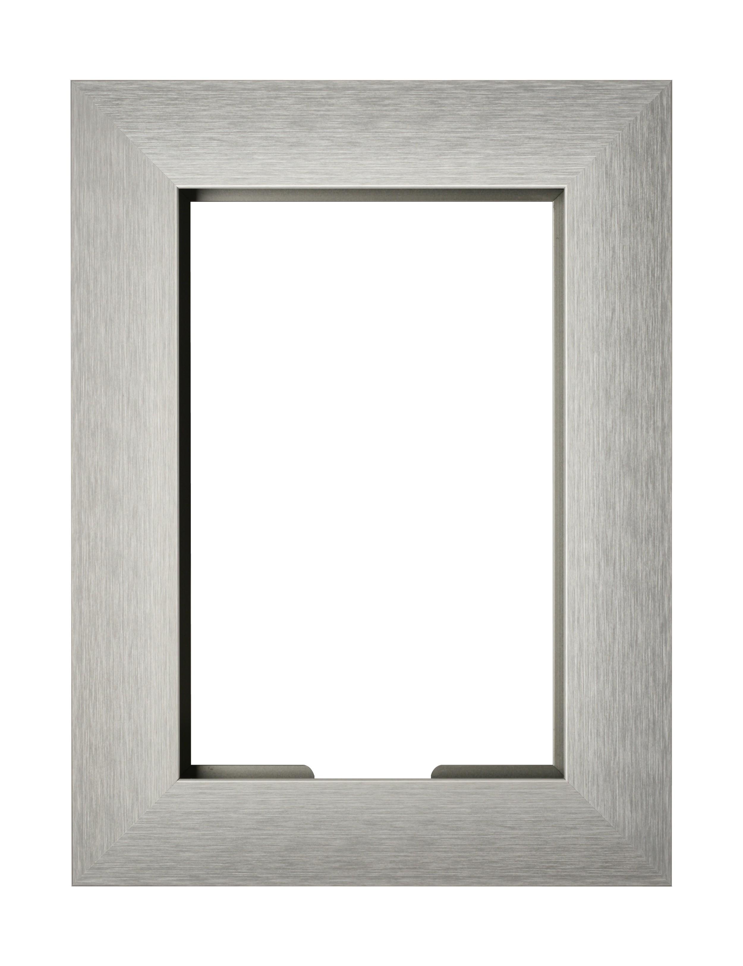 VidaMount Wall Frame - iPad Mini 1/2/3 - Brushed German Silver