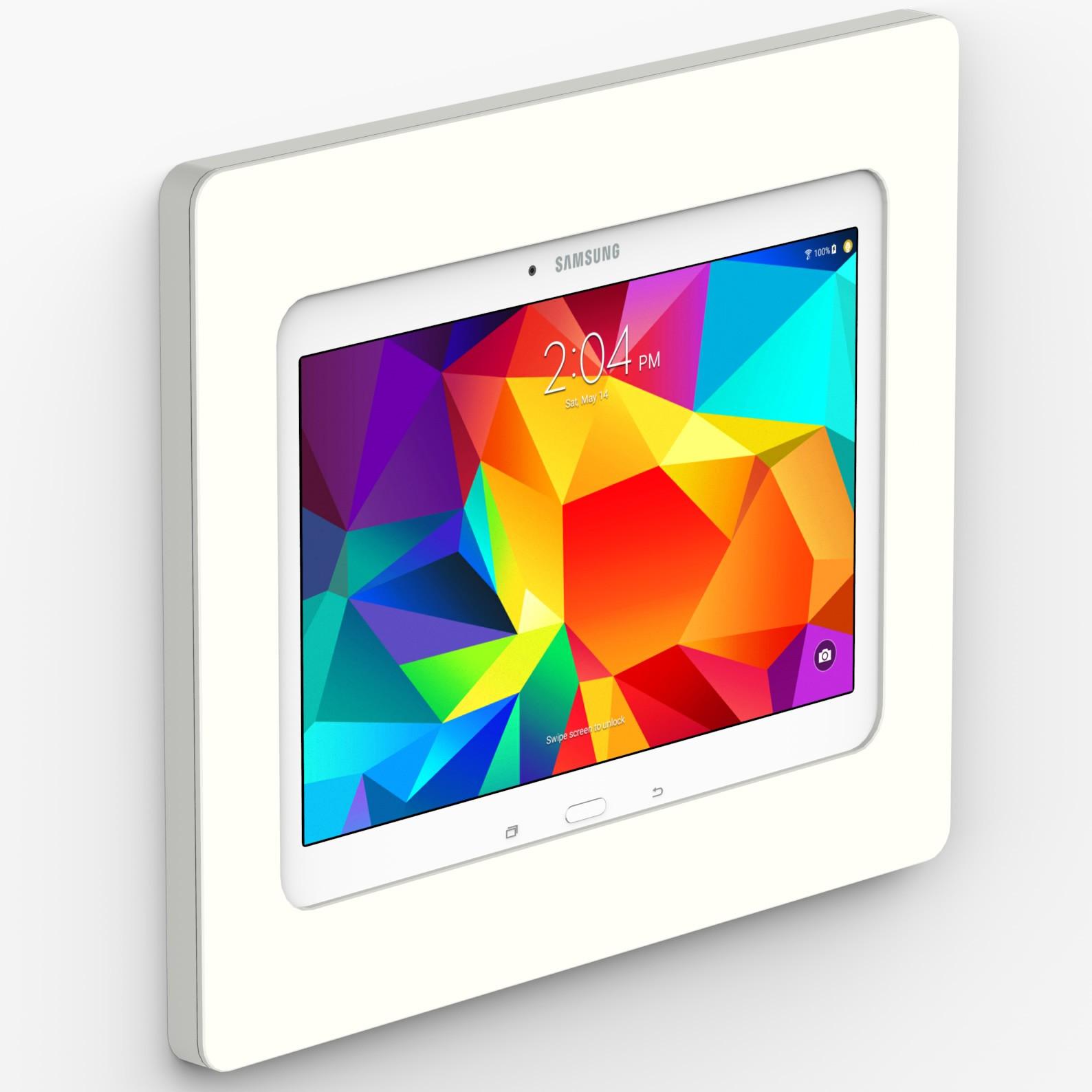 White Samsung Galaxy Tab 4 10 1 Vidamount On Wall