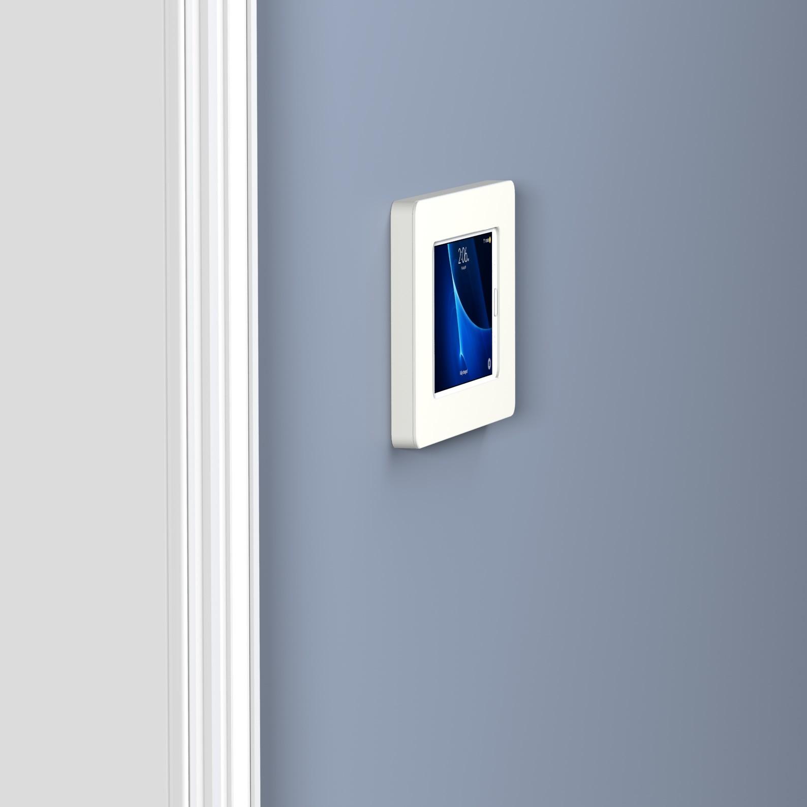 White Samsung Galaxy Tab A 7 0 Vidamount On Wall