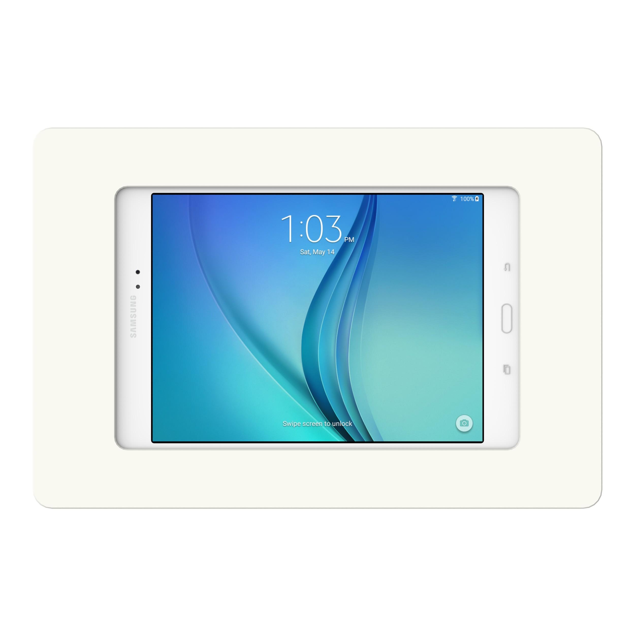 White Samsung Galaxy Tab A 8 0 Vidamount On Wall