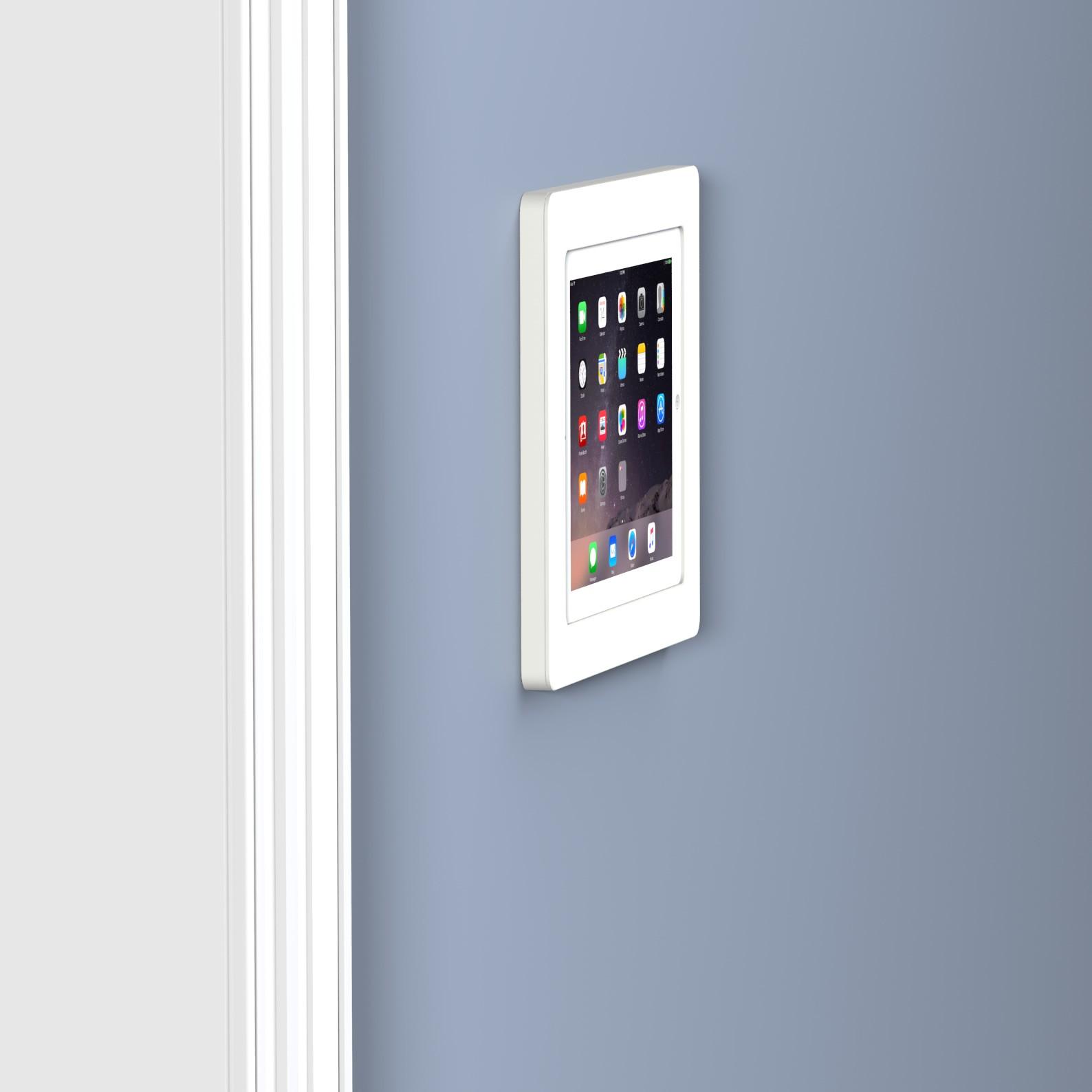 White Ipad 2 3 4 Vidamount On Wall Tablet Mount