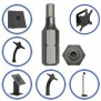 Compatibility - Tamper Resistant Pin-in-Socket Hex Bit - M2.5