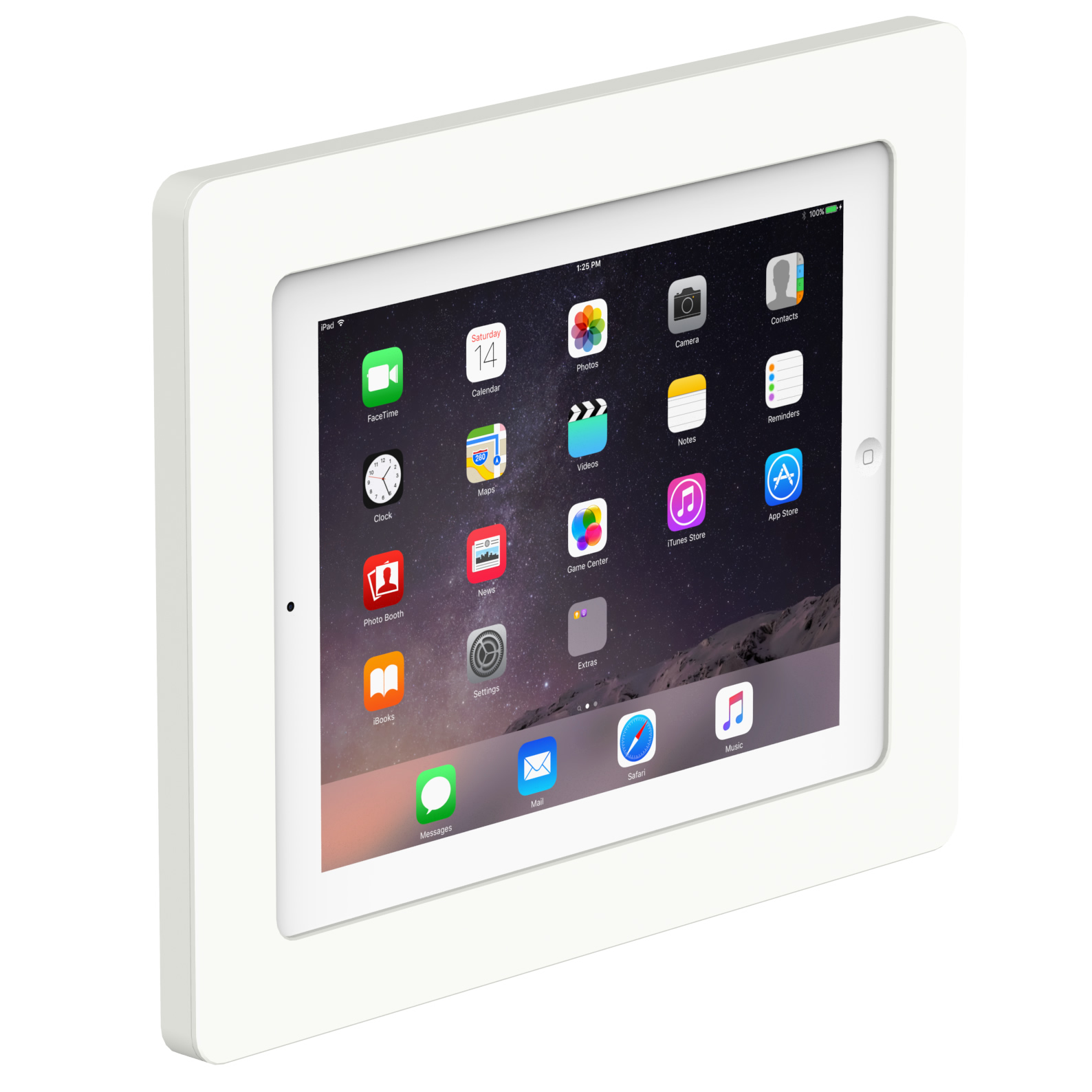 On Wall Ipad Android Galaxy Tab Tablet Enclosure