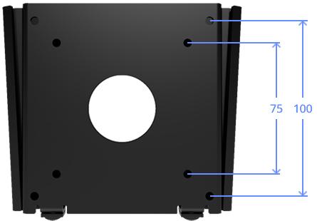 VESA 100-75 Compatible Wall Mount
