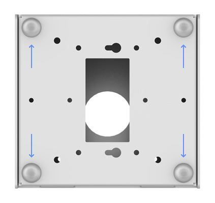 Non-Slip Base - Fixed Tilted Surface Mount
