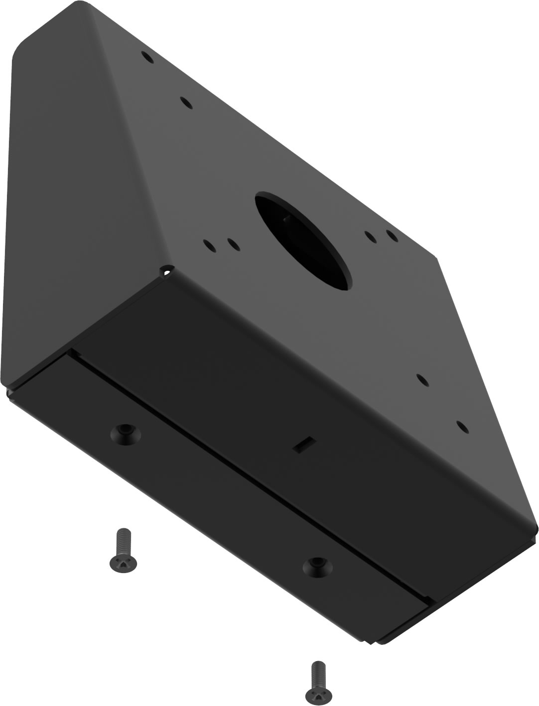 VESA 100-75 Compatible Fixed Tilted Wall Mount