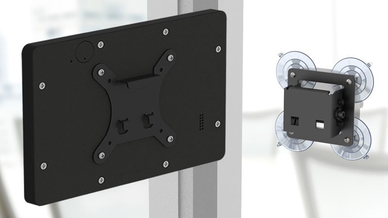 Temporary, Removable Locking Screw for Securely Mounting Your Tablet!
