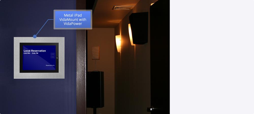VidaBox iPad enclosures, kiosks, stands + USB POE CAT5 Chargers