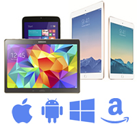 Different tablets need different enclosures!
