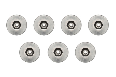 Optional Security Screw Kit provides (7) Pin-in-Hex Socket Cap Screws