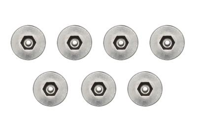 Optional Security Screw Kit provides (7) Pin-in-Hex Socket Cap Screws