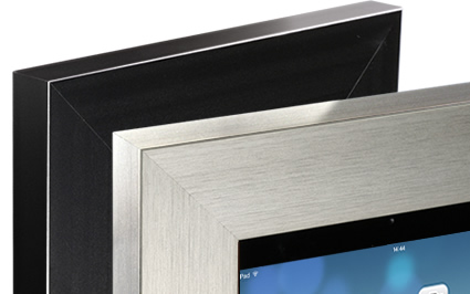 Vidamount Ipad Secure Metal On Wall Frame